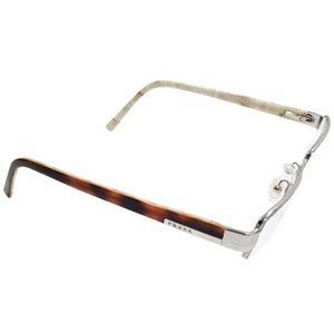 Prada orange silver VPR 64H eyeglasses